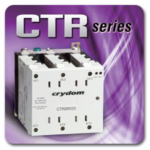 CRYDOM INTRODUCES THE CTR SERIES