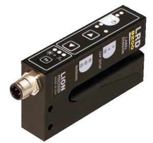 New LRD8200 Label Sensor with Push-Button Controls
