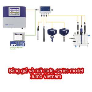 Bảng giá và mã sản phẩm jumo Vietnam