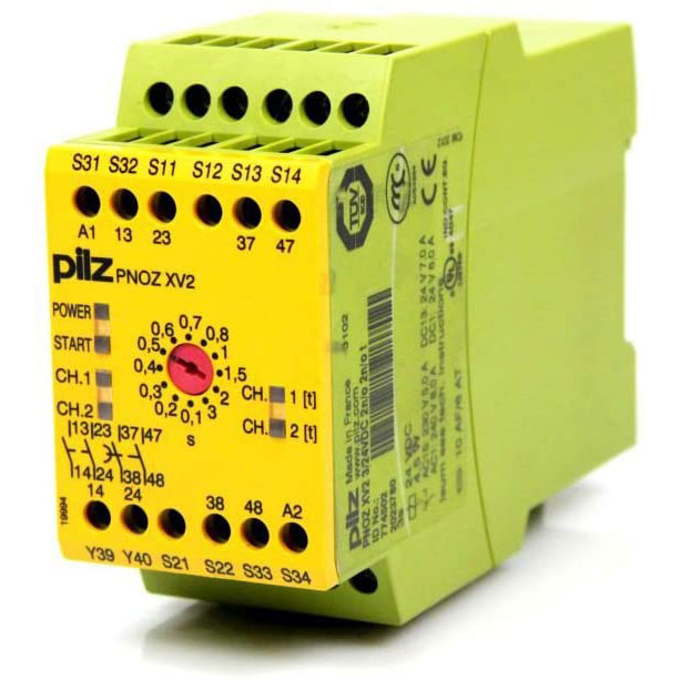 774502 Pilz - PNOZ XV2 3/24VDC 2n/o 2n/o t - Safety relay PNOZ X - Time monitoring