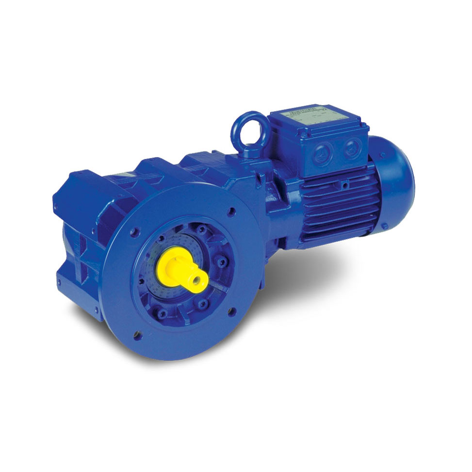 Bauer Bevel Geared Motor - BK Series