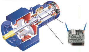 Geared Motors with CAGE-CLAMP Technology