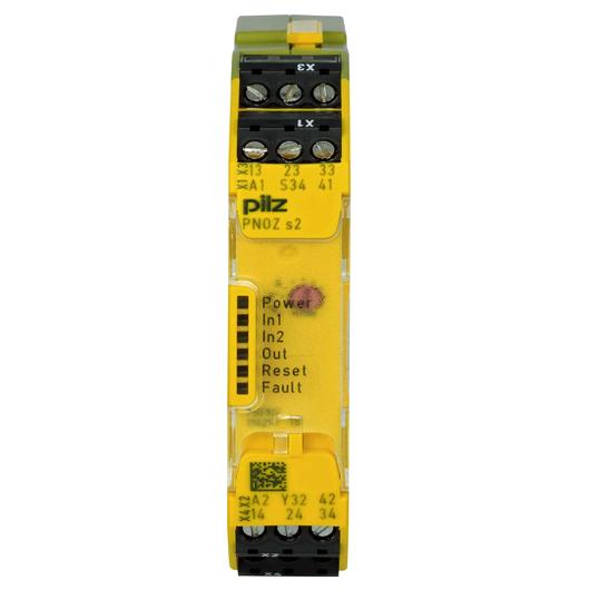 PILZ PNOZ s2 24VDC 3 n/o 1 n/c: 750102