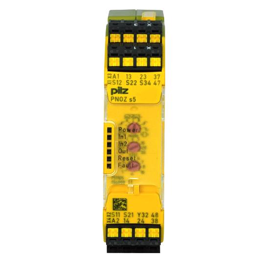 PILZ PNOZ s5 C 24VDC 2 n/o 2 n/o t: 751105