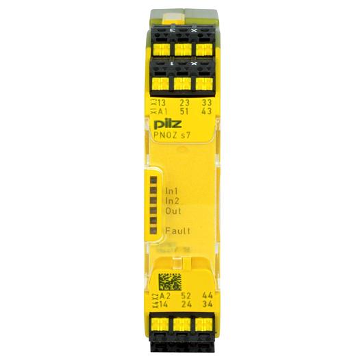 PILZ PNOZ s7 C 24VDC 4 n/o 1 n/c: 751107