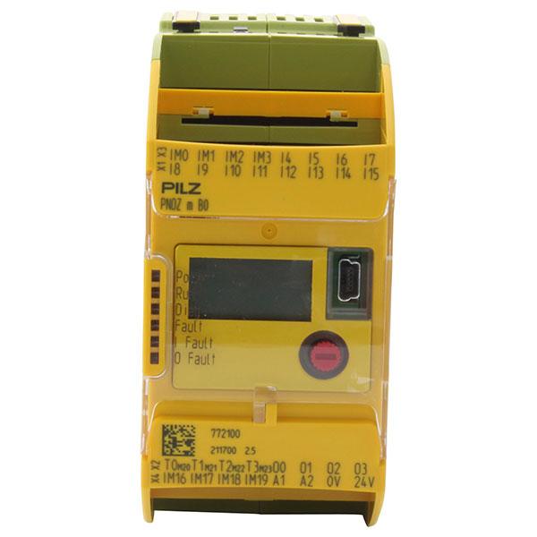 PNOZ M B0 Configurable Controller, PNOZmulti 2, 20 Inputs, 4 Outputs, 24VDC, DIN Rail