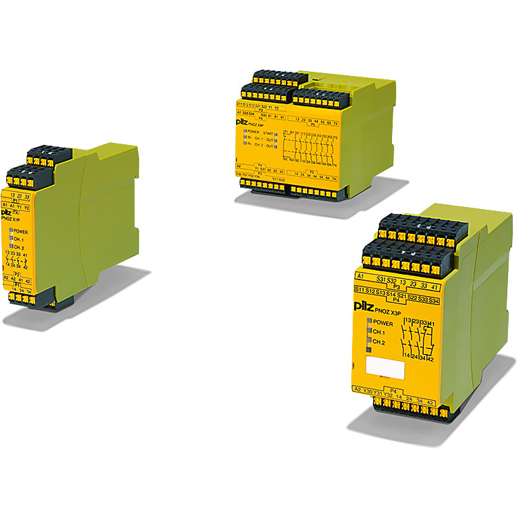 PNOZ X safety relays