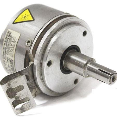 Manufacturer: SEW Type: ABSOLUTE ENCODER Model: AMG 73 W29 S2048 Designation: AS7W/AV7W  Shaft Desig