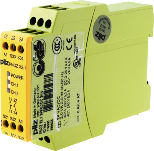 Safety relays PNOZ X2.1