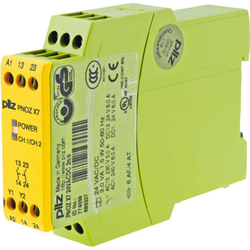 Safety relays PNOZ X7