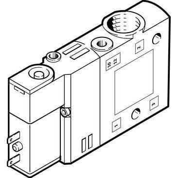 Van điện từ Air solenoid valve CPE14-M1BH-3GL-1/8  196929