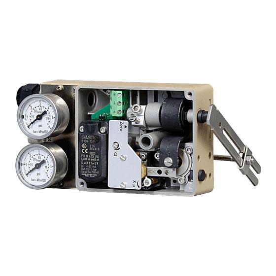 4763 - ELECTRO-PNEUMATIC POSITIONER